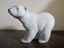 Lladro Spain Porcelain Figurine 1207 Attentive Polar Bear