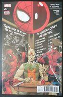 SPIDERMAN vs. DEADPOOL #37 (2018 MARVEL Comics) ~ VF/NM Comic Book