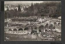 Vintage Postcard General View Aerienne de la Basilique Lourdes France unposted