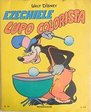 WALT DISNEY EZECHIELE LUPO COLORISTA MONDADORI N.101 1966 ALBUM DA COLORARE