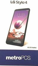 NEW LG Stylo 4 Q710MS 32GB Black (Metro by T-mobile) Metro ONLY