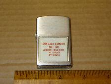 Vintage Life Liter Lighter Dundalk Lumber Co. Inc. Maryland Lumber Millwork New