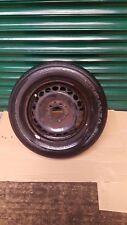 """2005-12 Mercedes B class W245 Spare 15"""" inch Steel Wheel With Tyre 195/65 R15 88"""