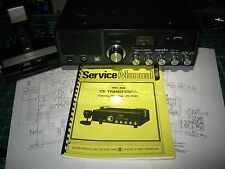 Realistic TRC-458 Service Manual - (Also Useful for most PC-196BD based Radios)