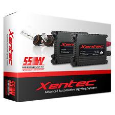 XENTEC AC 55w HID Kit 9005 9006 H1 H3 H4 H7 H10 H11 H13 H16 5202 6000K 5K Xenon