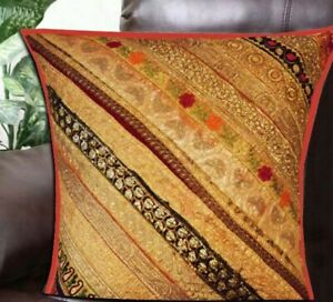 """33% OFF 30"""" ORANGE HOME DECOR PATCHWORK THROW BED CUSHION PILLOW COVER ACCENT"""