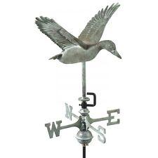 Flying Duck Verdigris Finish Weathervane