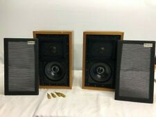 2 X ROGERS LS3/5A  LS3 LS35A 15 OHM MONITOR  LOUDSPEAKERS SPEAKER PAIR VINTAGE