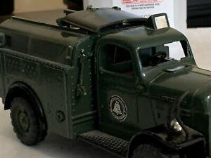 "1950 Dodge""Bell System"" Power Wagon Diecast Truck,broken parts."