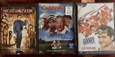 3 DVD Lot: Night At The Museum, Caddyshack, Animal House 2 NIB & 1 EUC