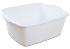 STERILITE Dish Pan, 18 Quart