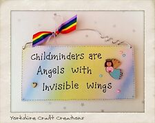 Children's Pictorial Decorative Wall Plaques