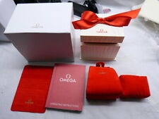 Omega Ladies Constellation Present/Gift Box FULL SET - FAST World Ship
