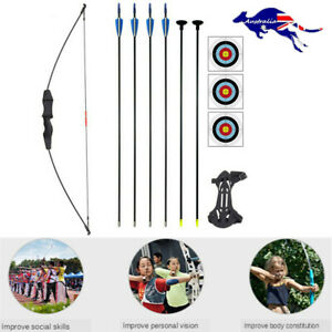 Children'S Archery Bow And Arrow Set For Beginner Training Shooting Kids Gift AU