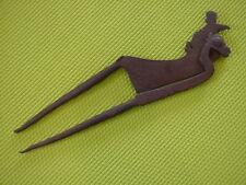 Rare Antique 18th/19th Century Iron Betel Nut Cracker Kacip Collectible Tool