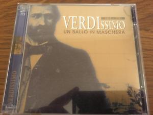 """VERDI """"Verdissimo - Un Ballo In Maschera"""" 2cd Set NEW Gigli/Caniglia/Bechi 1943"""