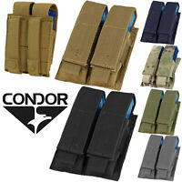 Condor MA23 Tactical MOLLE PALS Modular Double Pistol Mag Magazine Utility Pouch