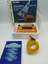 Alba Aquaman Waterproof Cassette Player