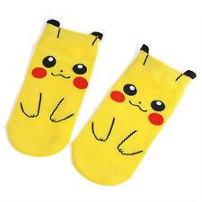 Lovely Anime Pokemon Pikachu kawaii Character Pocket Monsters Women Kid Socks