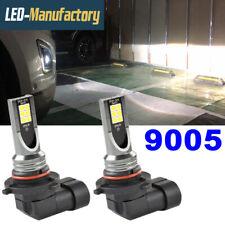 9005 HB3 LED Fog Driving Lights Bulbs DRL 6000K White Headlight Conversion Kit