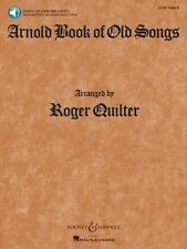Arnold Book of Old Songs Voice Book and Audio NEW 048018791