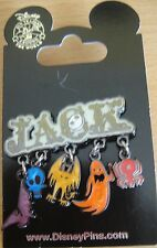 Disney Nightmare Before Christmas- 'JACK'- Dangle Icons Pin - New on Card