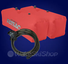 FAT SAC V-DRIVE WAKEBOARD BOAT BALLAST BAG SET AND PUMP - RED - W701 W709-SUPA