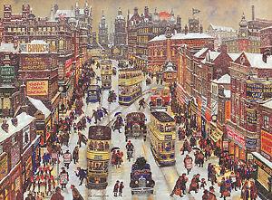 George Cunningham - The Moor - Sheffield Print