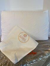 JUVEA Natural Adjustable Talalay Latex Down Alternative Pillow Standard/Queen