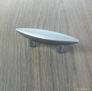 Möbelgriff Möbelgriffe Chrom matt Kunststoff Schubladengriff