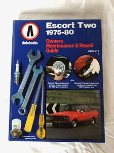 Escort Two 1975-'80 maintenance guide