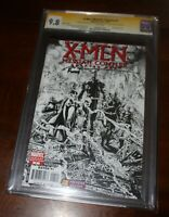 2x Signed Marvel X-Men Messiah Complex 1 CGC 9.8 SS SILVESTRI FINCH SKETCH Cover