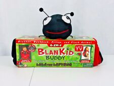 4-in-1 blankid buddy lula the ladybug blanket and travel pillow