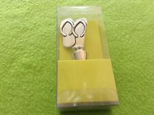 Tropical Sandals Flip Flops Silver Tone New In The Box Wine Bottle Stopper