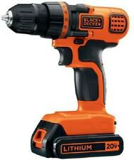 20V Cordless Drill Driver Light 3/8 Inch Gun Machine Portable Wood Metal Plastic