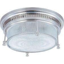 Maxim Lighting Hi-Bay 2-Light Flush Mount Satin Nickel - 25000CLSN