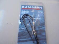 Kamasan aberdeen b940 sea fishing hooks chemically etched needle point 6/0