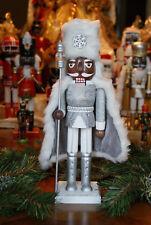 African American Ethnic Black Silver King Nutcracker