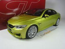 BMW M4 F82 PAQUET DE COMPETITON 1/18 GT SPIRIT (JAUNE)
