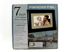 Pandigital LCD 7-inch Digital Photo Frame Black 128 MB PAN707B