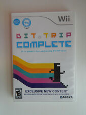 Bit Trip Complete Game & Soundtrack Complete Nintendo Wii