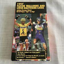 Fleche Wallonne And Liege-Bastogne-Liege Cycling Vhs 1997