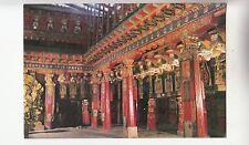 BF28297 inside the main hail  zuglakang temple  china   front/back image