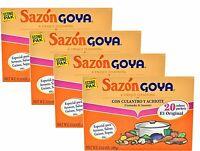 Goya - Sazon with Coriander & Annatto - 3.52oz, 4 Pack