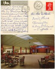 MISSENT to HONINGTON RAF CAMP 4d PPC 1970