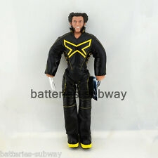 New Superhero X-Men Black Wolverine Logan Figure Plush Stuffed Doll Toy 18""