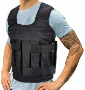 Weight Vests Adjustable Exercise Weighted Vest Gym Training Running Jackets