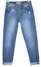 Denim Boyfriend Distressed Jeans Topshop for Women