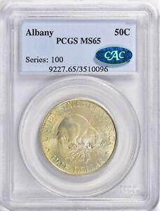 1936 Albany Commemorative Half Dollar PCGS MS65 CAC