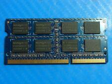 Dell L702X Nanya 4GB 2Rx8 PC3-10600S SO-DIMM Memory RAM NT4GC64B8HG0NS-CG